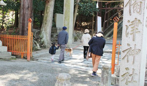 吉備津神社 入口
