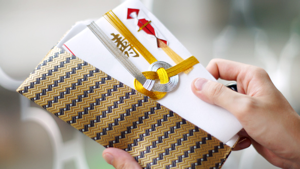 ネクタイのふくさ